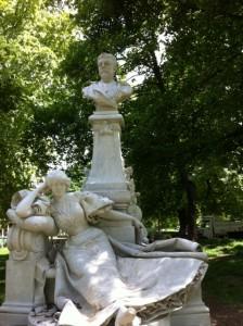 Statue restaurée